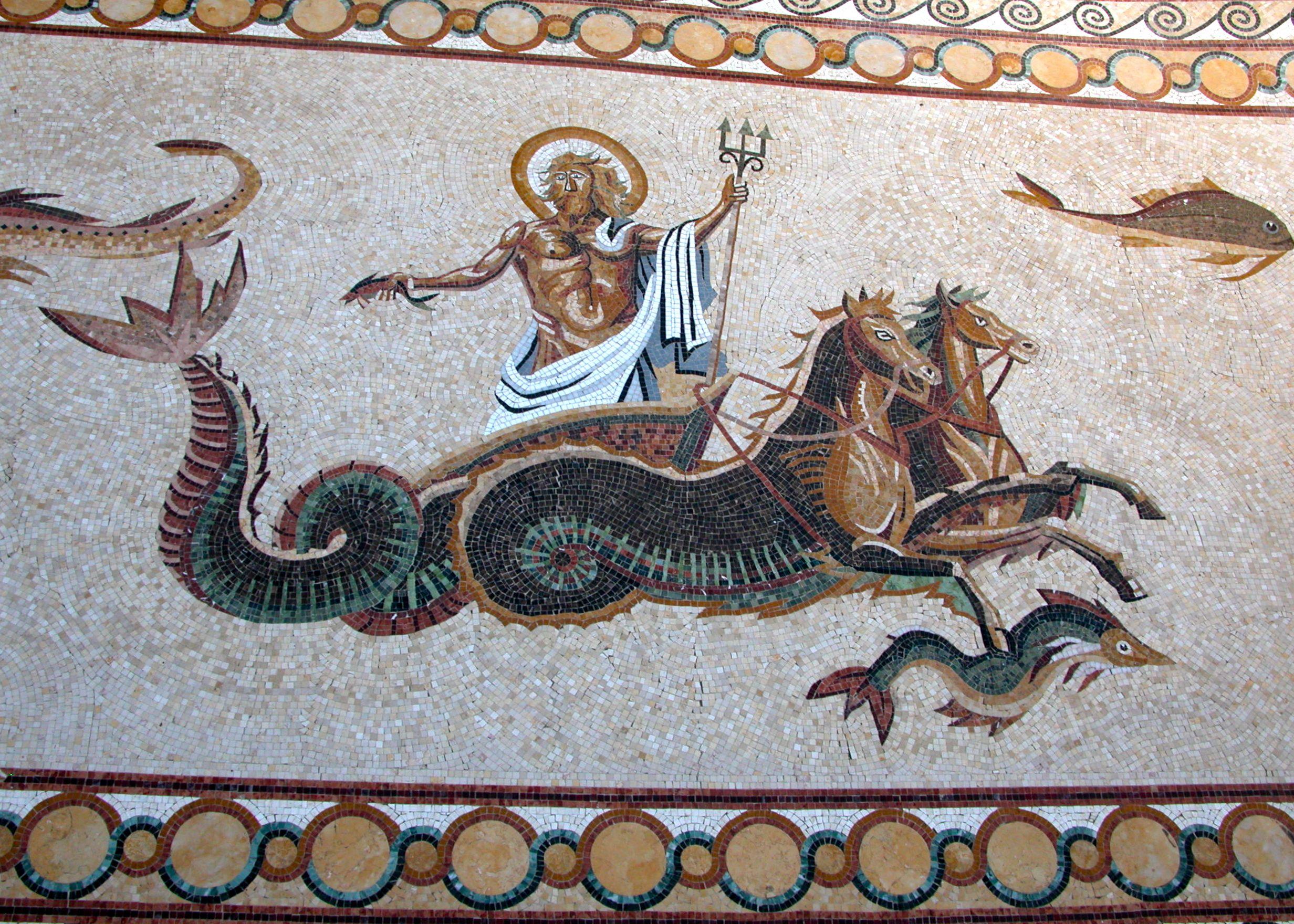 Mythology Pool Www Vita Nova Com Mosaic Pool Mythological