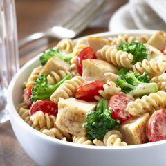 Honey Mustard Chicken and Broccoli Pasta Salad