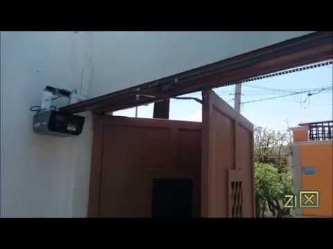 Automatizaci n de puerta plegadiza con motor craftsman - Automatizacion de puertas ...