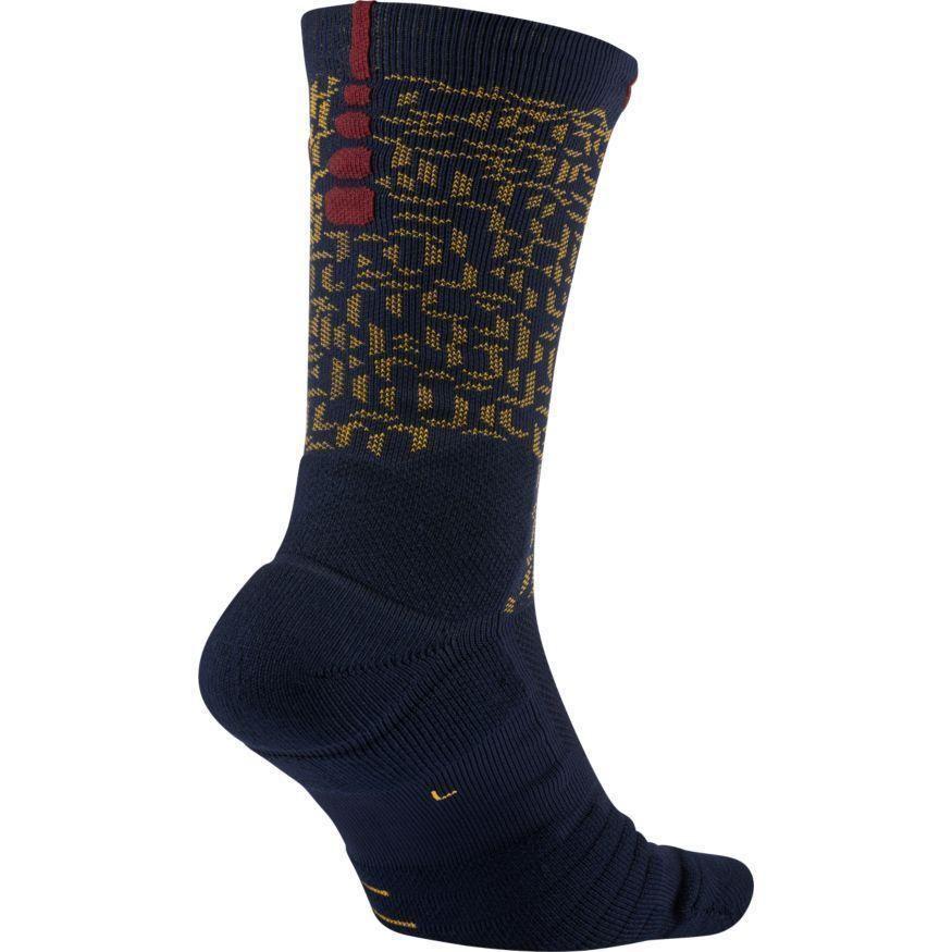 fcc7704b465c Nike Dri-Fit Elite Quick LeBron Basketball Crew Socks Navy M Shoe 6-8  22  (S5)  Nike  Basketball  lebron  socks