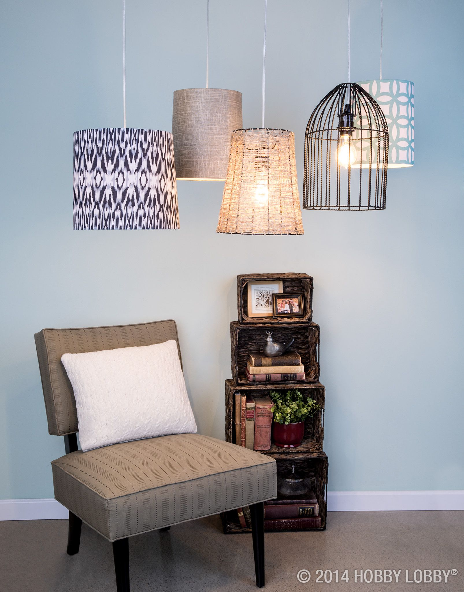 Overhead Lighting Give Your Overhead Lighting An Instant Update With A Diy