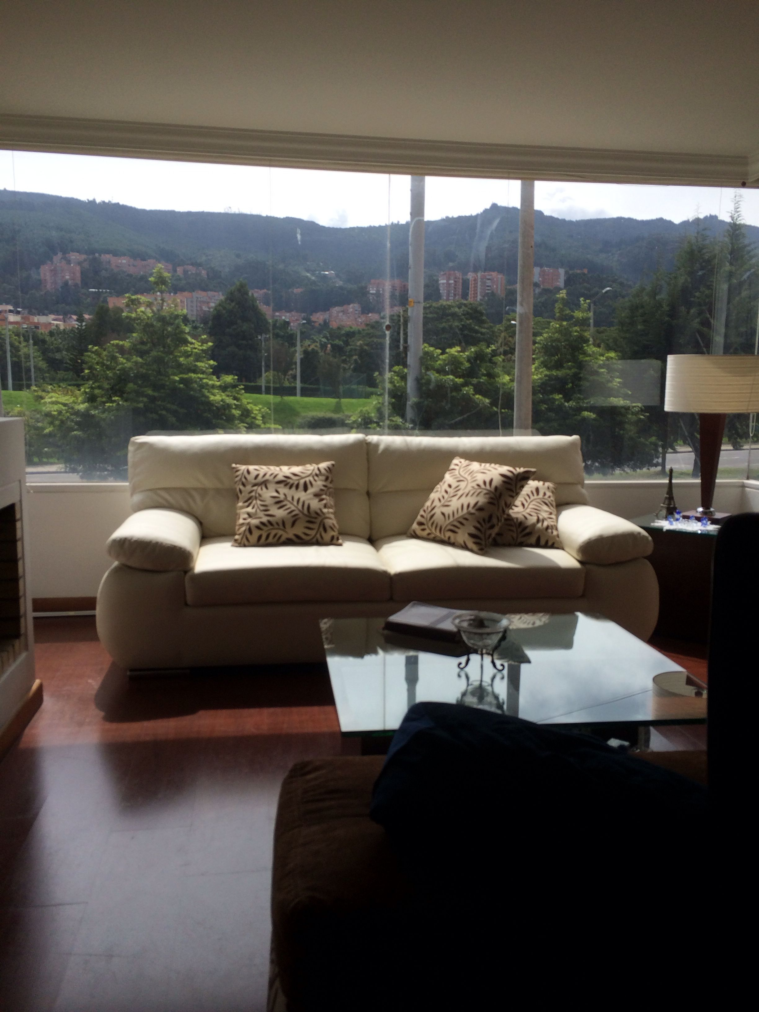 Room with a view in Bogotá, Colombia