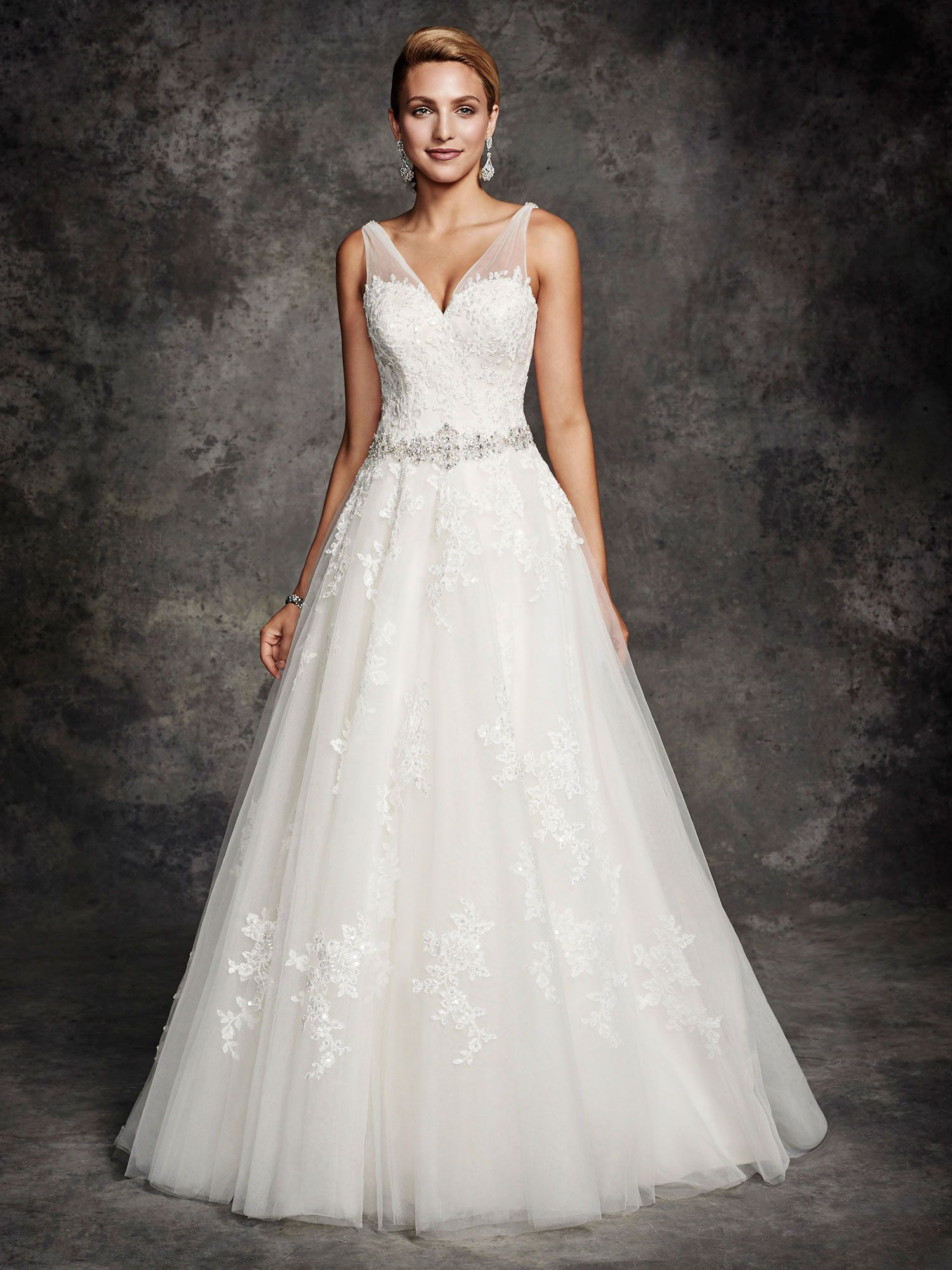 Style be254 bridal gowns wedding dresses ella for Private label wedding dress