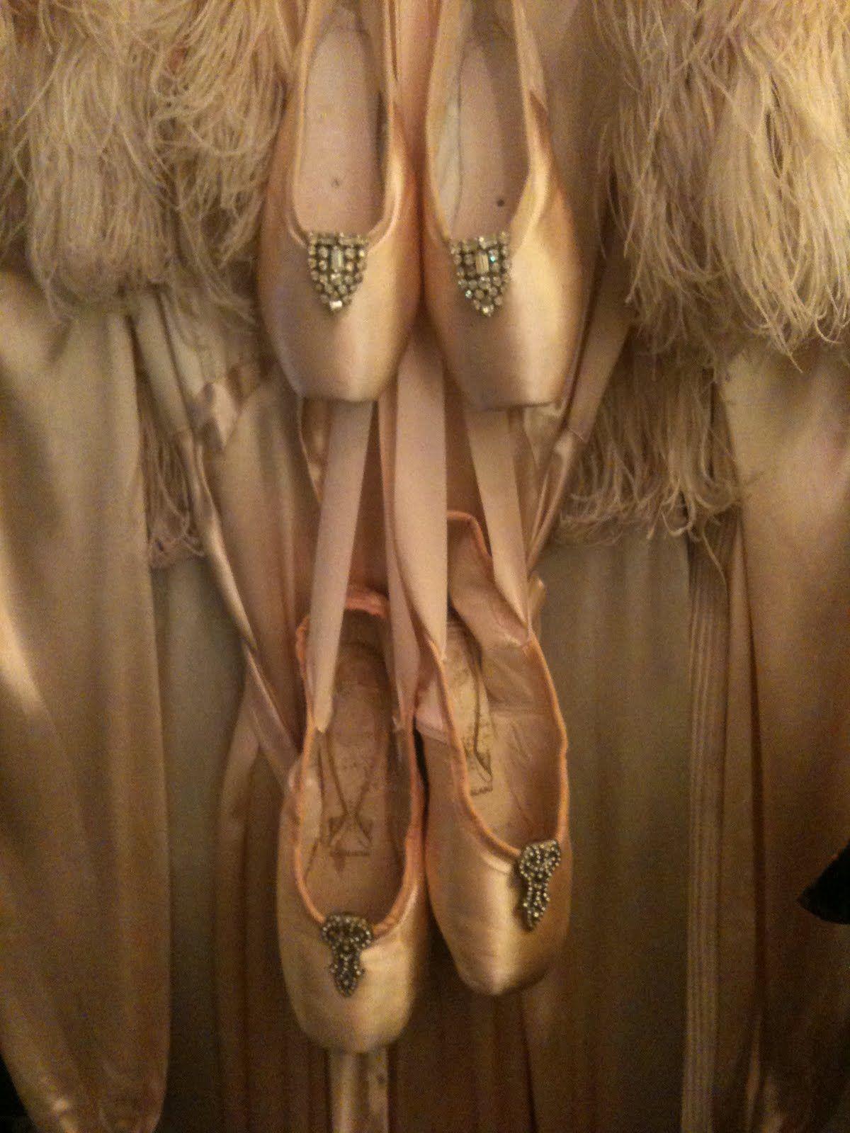 Vintage Ballet Shoes..