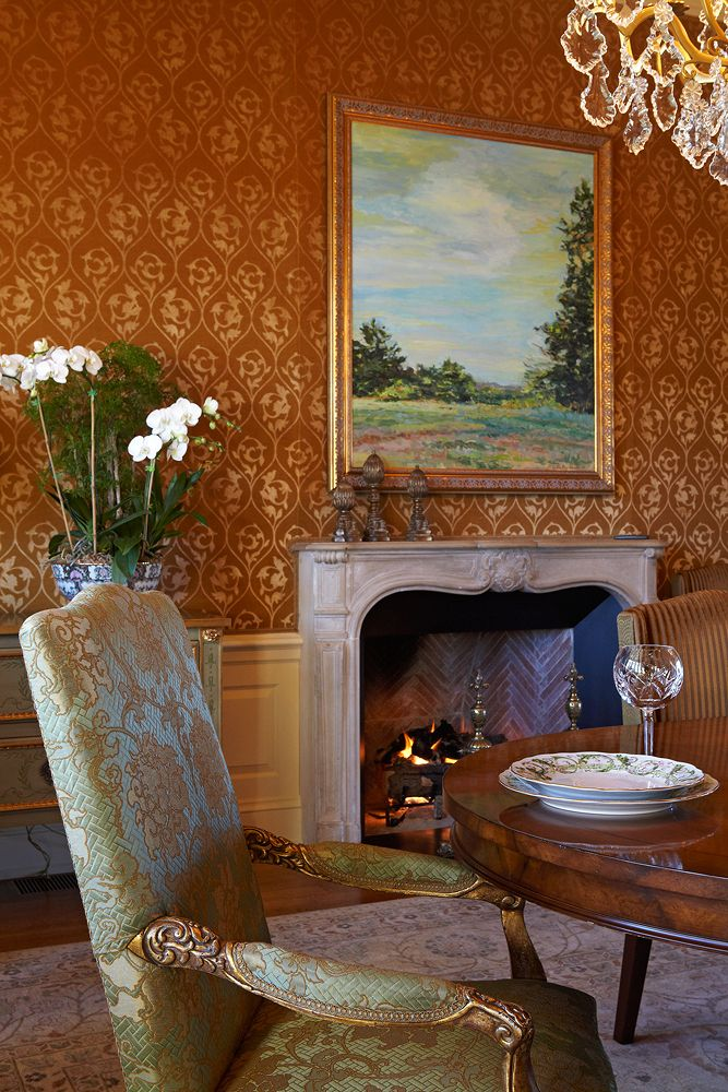 Rich Warm Dining Room Color Palette