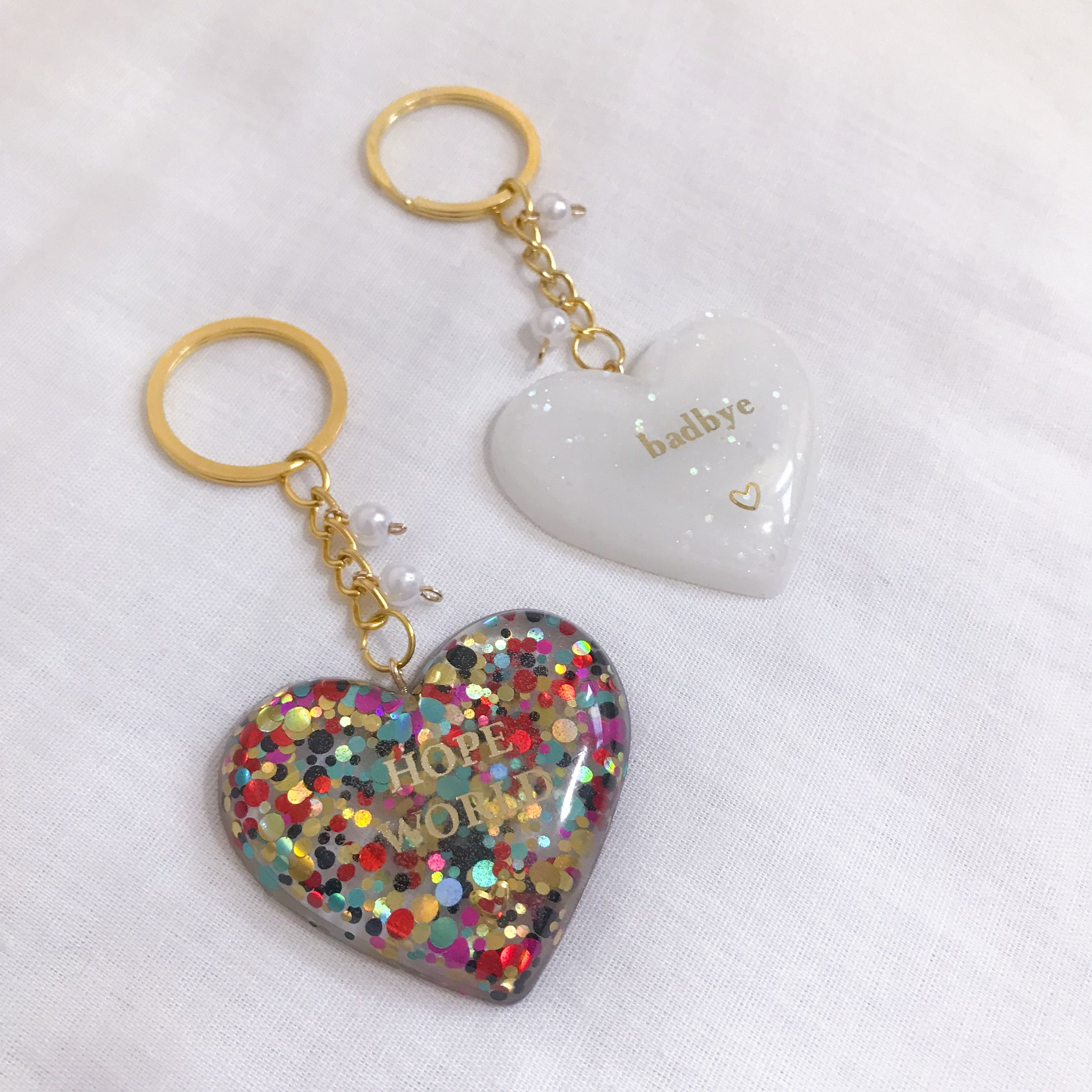 Pin by Ally P.Ch. on Kpop aesthetic Resin jewelry diy