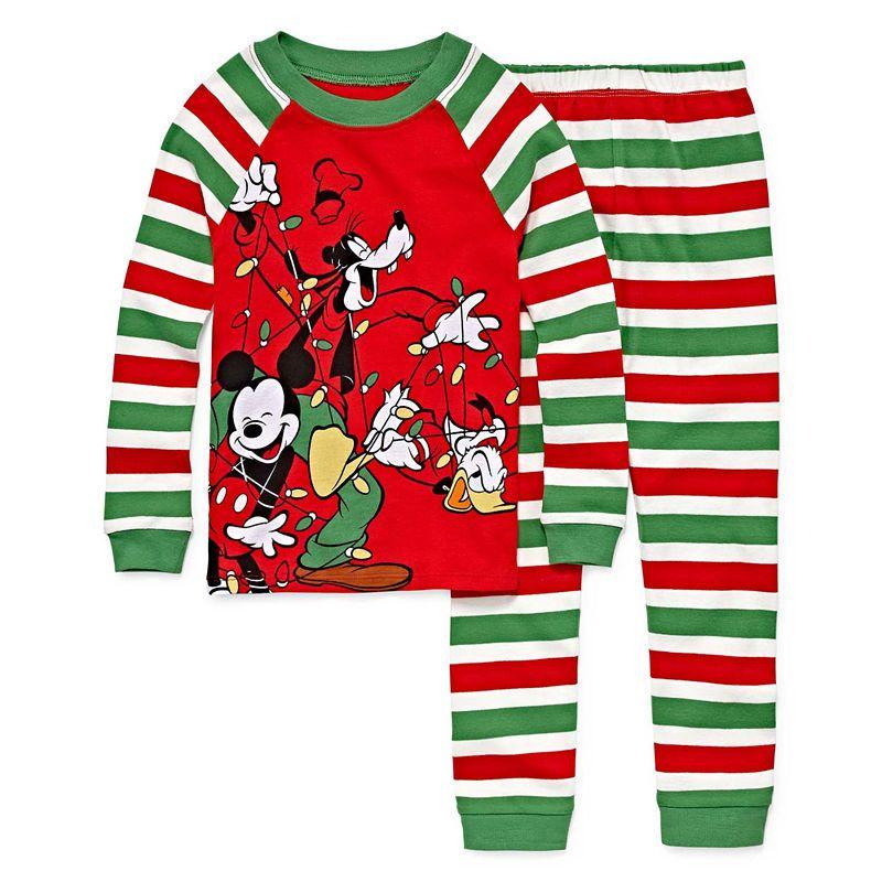 42e614b53 Disney 2-pc. Mickey Mouse Pajama Set Boys | Products | Pajama set ...