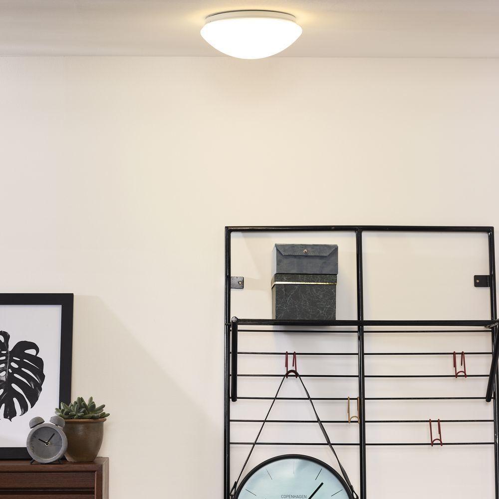 LED Deckenleuchte BiancaLed in WeißSatiniert 12W 900lm