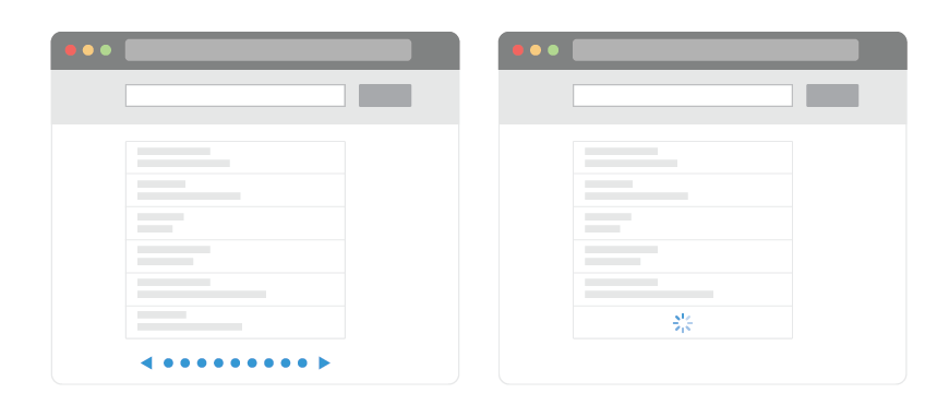 Pagination vs. Infinite Scroll - Let's Get To The Bottom Of This | Smashing UX Design