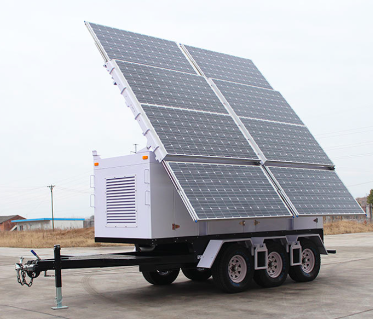 Solar Trailer Used Through Out The United States And World Wide By Fema Federal Emergency Management Agency Dhs Departme Solar Panels Solar Best Solar Panels