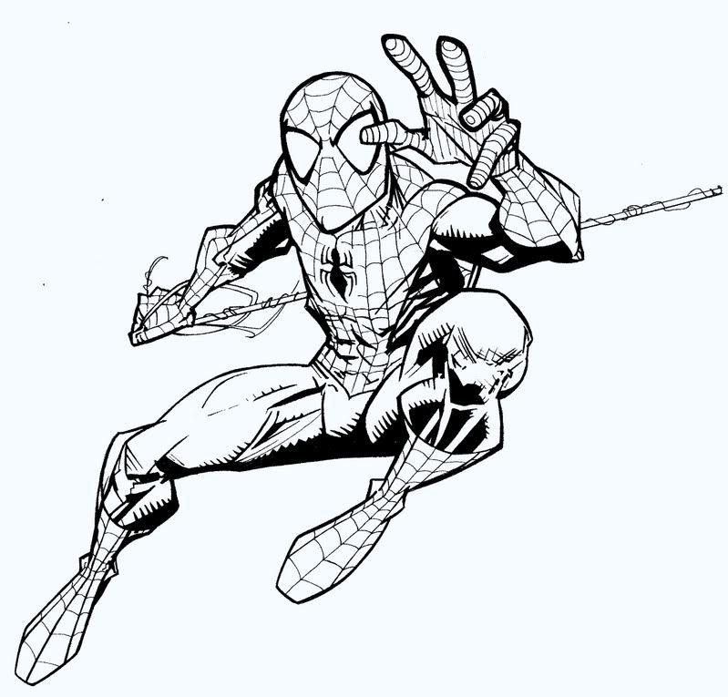 Spider Man | Spiderman drawing, Spiderman art, Comic book ...