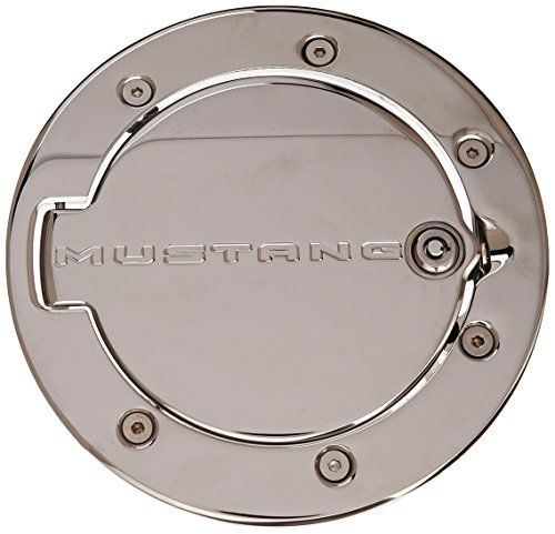 Defenderworx 900708 Chrome Mustang Logo Locking Fuel Door To View Further For This Item Visit The Image Mustang Logo Exterior Accessories Chrome