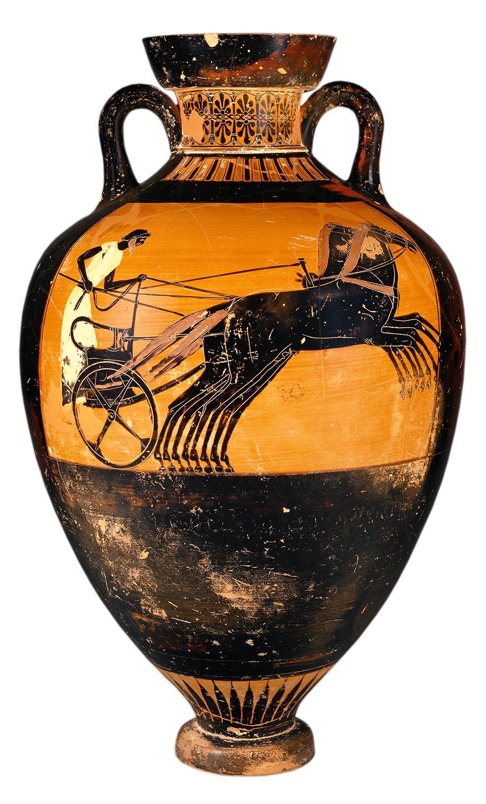 Kleophrades Anfora Griega 490 480 A C Arte Griego Antiguo Grecia Antigua Arte Griego