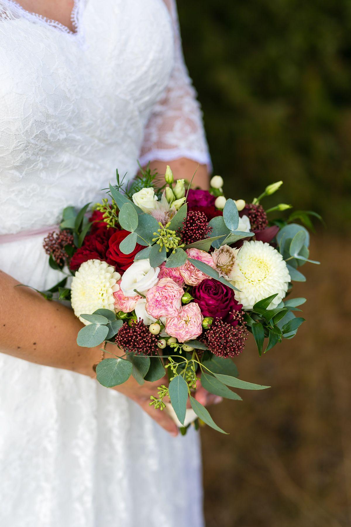 Brautstrauss Eukalyptus Brautstrauss Blumenstrauss Hochzeit Braut Blumen