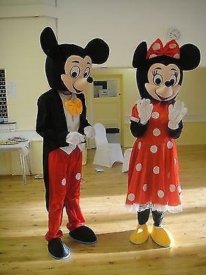 Mickey u0026 Minnie Mouse Costume Hire £35 & Mickey u0026 Minnie Mouse Costume Hire £35 | Mickey u0026 Minnie Mouse ...