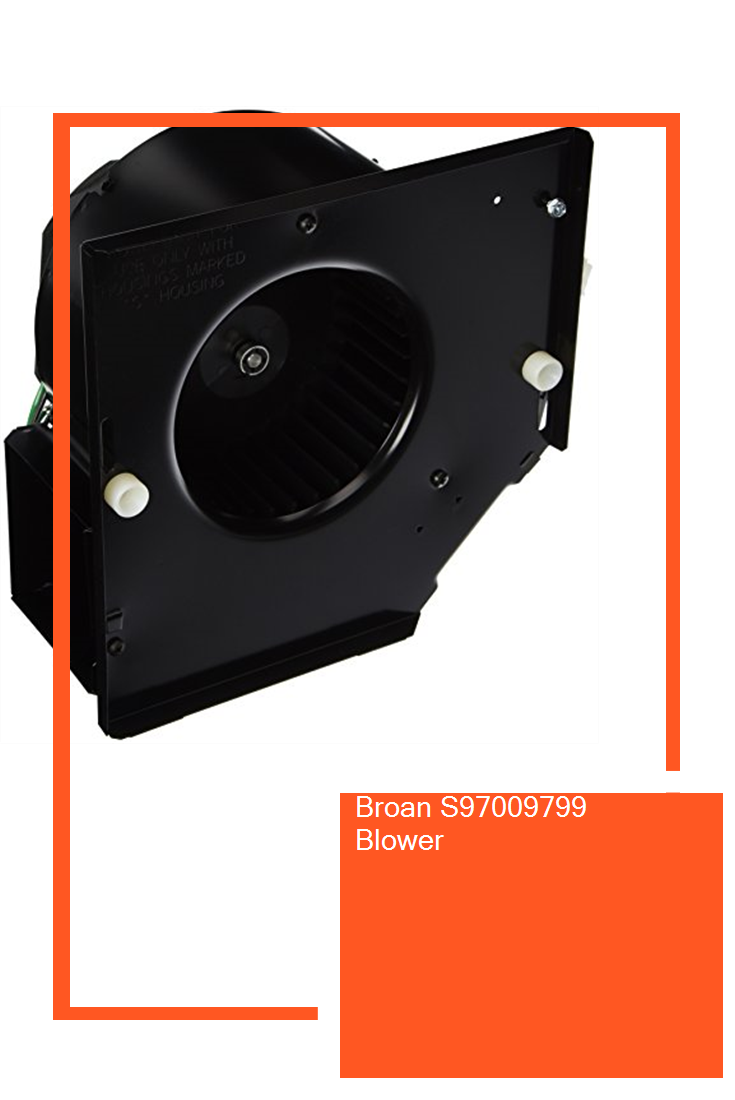 Broan S97009799 Blower aircondition