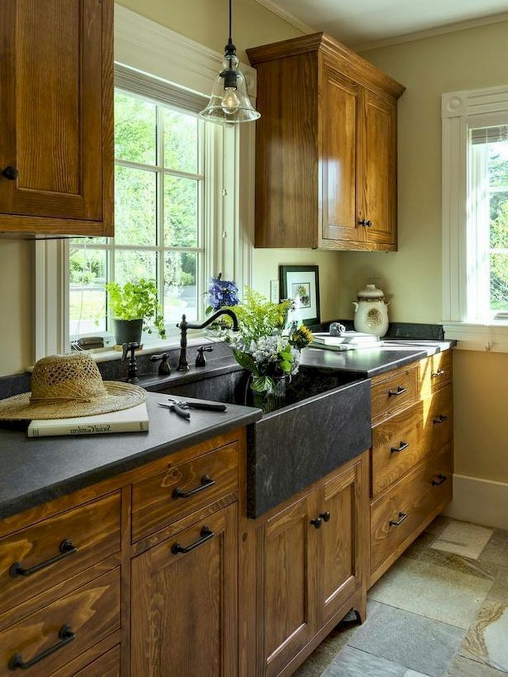 Why to go for Rustic kitchen cabinets for Farmhouse - Farmhouse kitchen cabinets, Rustic kitchen, New kitchen cabinets, Rustic kitchen cabinets, Kitchen cabinets makeover, Kitchen renovation - Why to go for Rustic kitchen cabinets for Farmhouse  MeCraftsman
