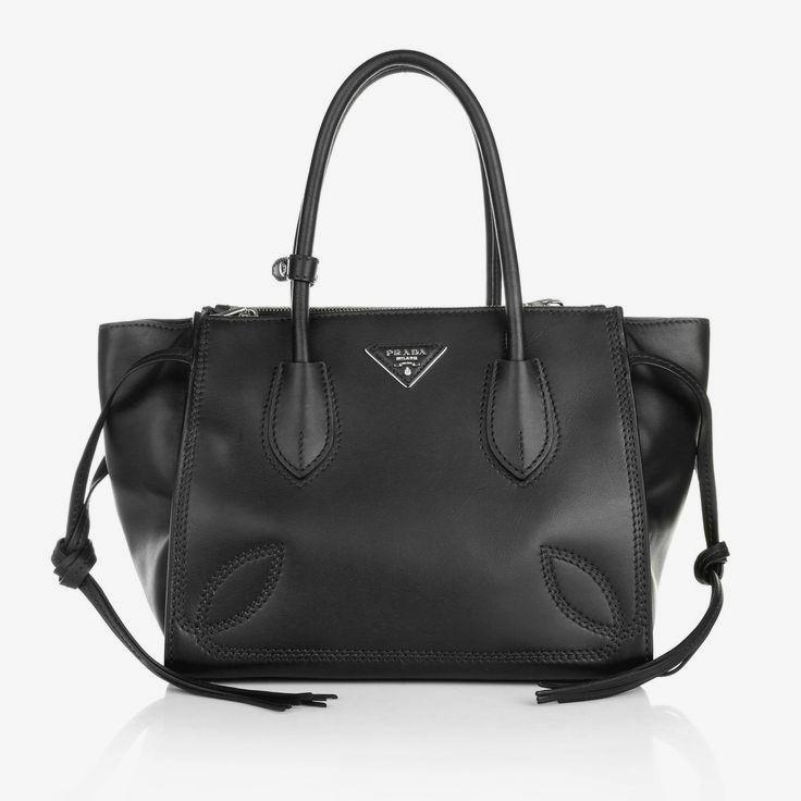 Classy black business bag  Prada Shopping Bag City Sport Nero  www.fashionette.de d6b04ee50a0
