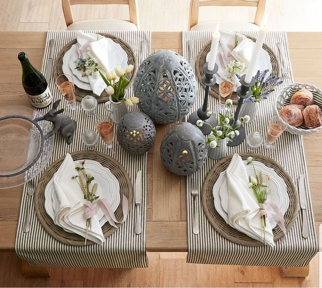Pin By Tatyana Shekhovtsova On Table Scapes Spring Table Table Settings Fresh Decor