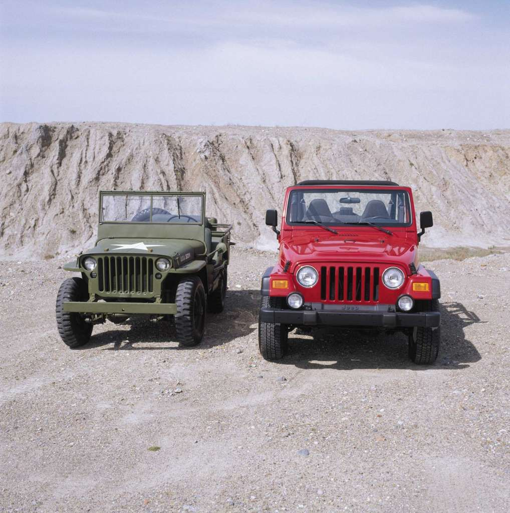 Jeep Celebrates Anniversary With New Military Themed Concept