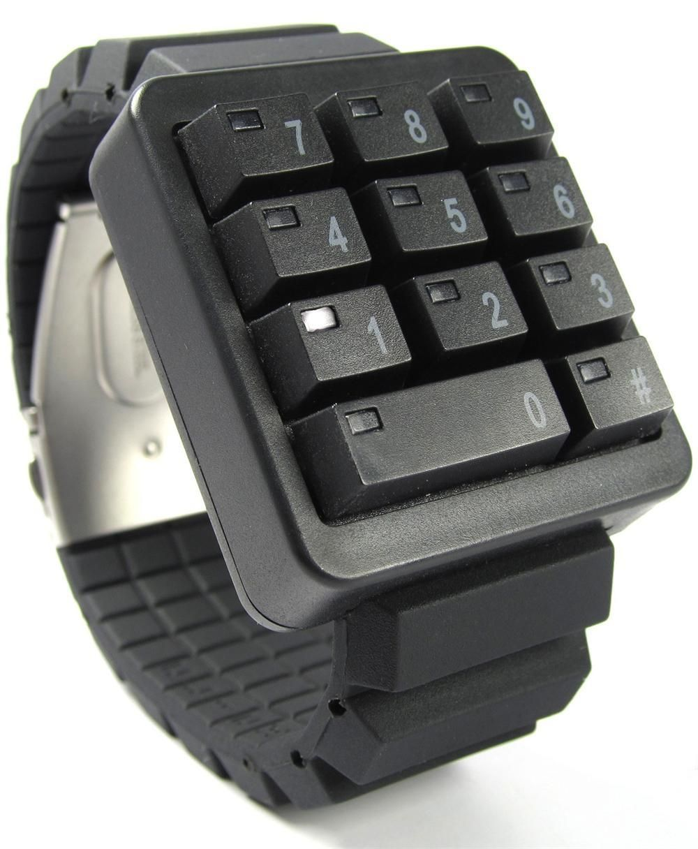 Keypad watch