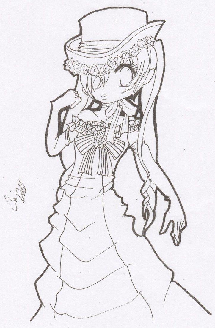 black butler girl ciel coloring