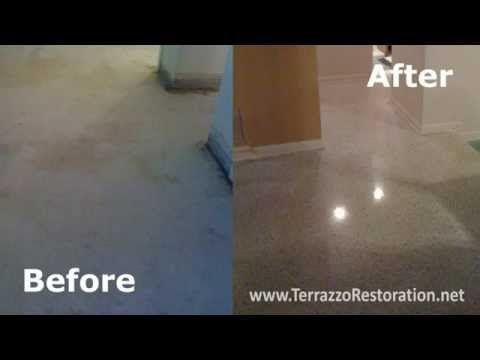 Terrazzo Floor Cleaning Machines In Palm Beach Terrazzo