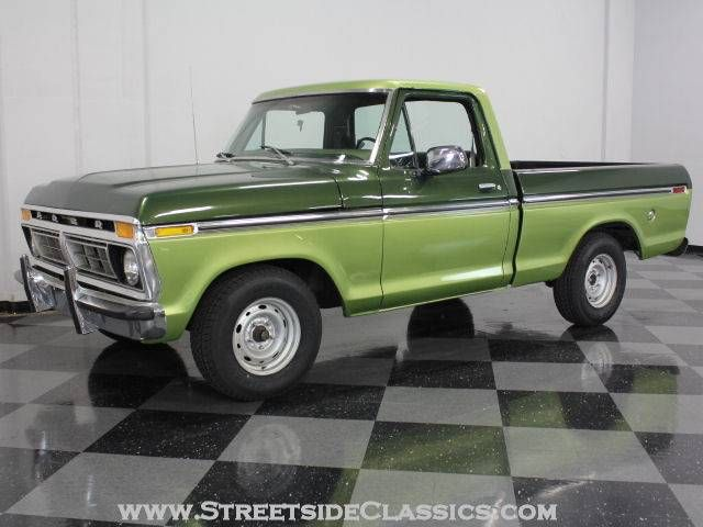 1976 Ford F100 Pickup Truck With Images Ford Trucks Classic