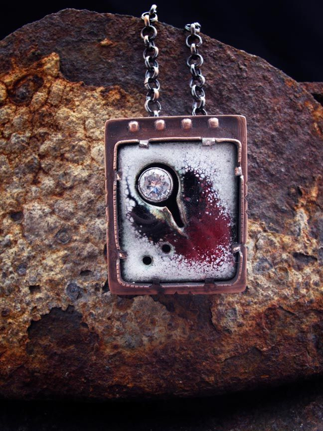 Richard Salley Fire and Ice Pendant