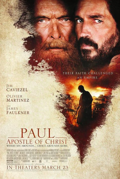 Christian Film Paul Apostle Of Christ In Theaters Today Christ Movie Free Movies Online Christian Movies