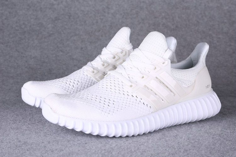 d3c0f5a988d1 Adidas Yeezy Ultra Boost 2016-2017 Beckham All All White UK Trainers  2017 Running Shoes 2017