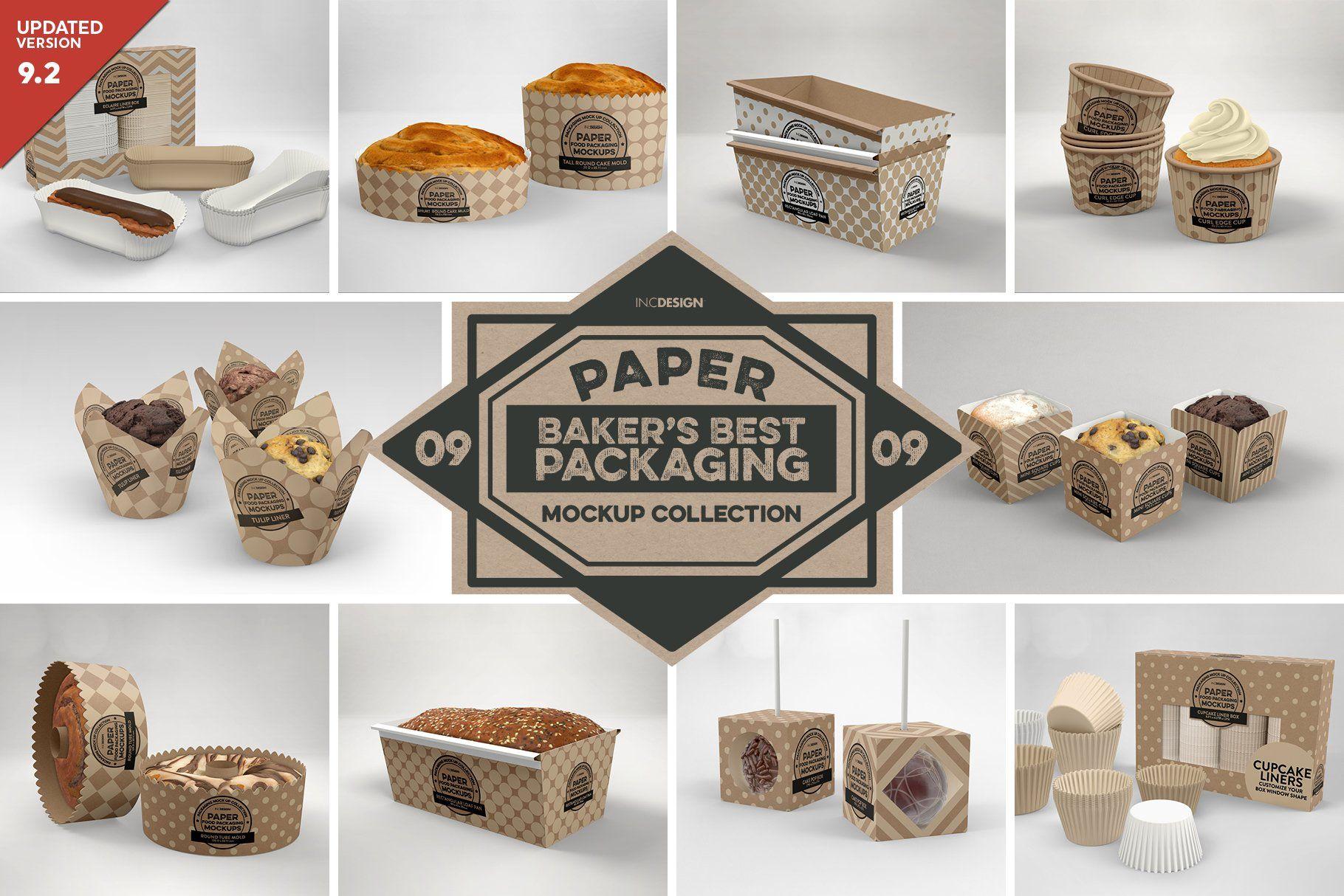 Download Vol 9 Food Box Packaging Mockups Design Mockup Free Packaging Mockup Food Box Packaging