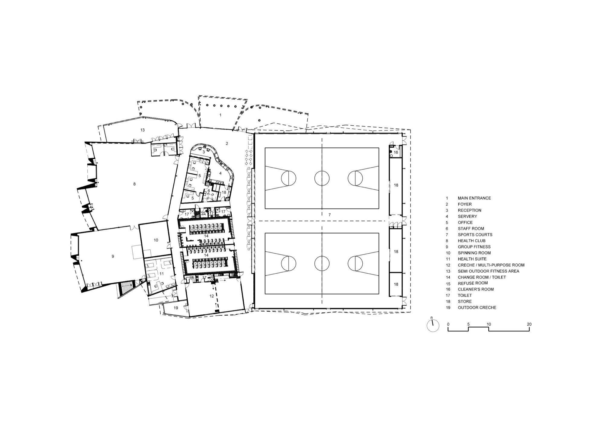 Gallery of Morris Iemma Indoor Sports Center / McPhee
