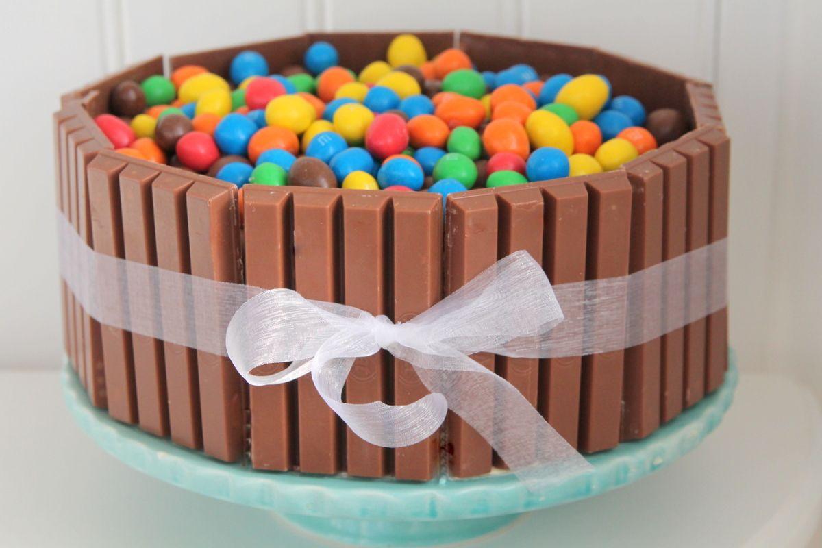 tårta med kitkat