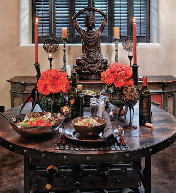 Find This Photo And Other Tips And Tricks In My New Book Seductive - Book table for dinner