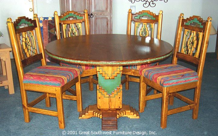 Southwest Dining Set Quot Cruz Quot This Would Look Great In My