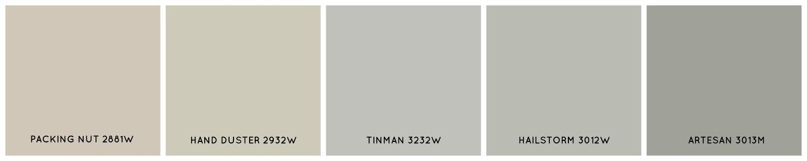 Wall Color Kwal Tinman Cl 3232w Interior House