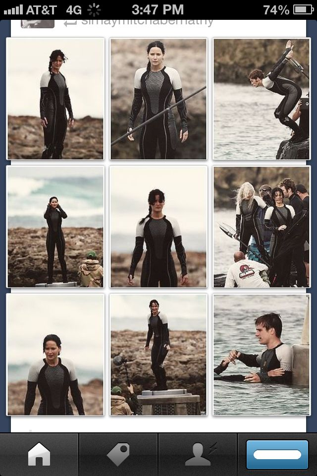 Catching Fire set photos; oh my god oh my god I'm not ...