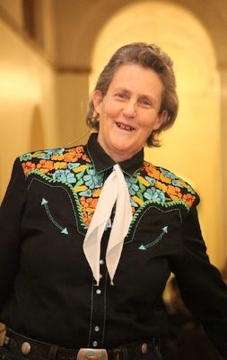 Temple Grandin - Autistic animal rights activist and teacher - never impose limits on a child- you never know what they can achieve.