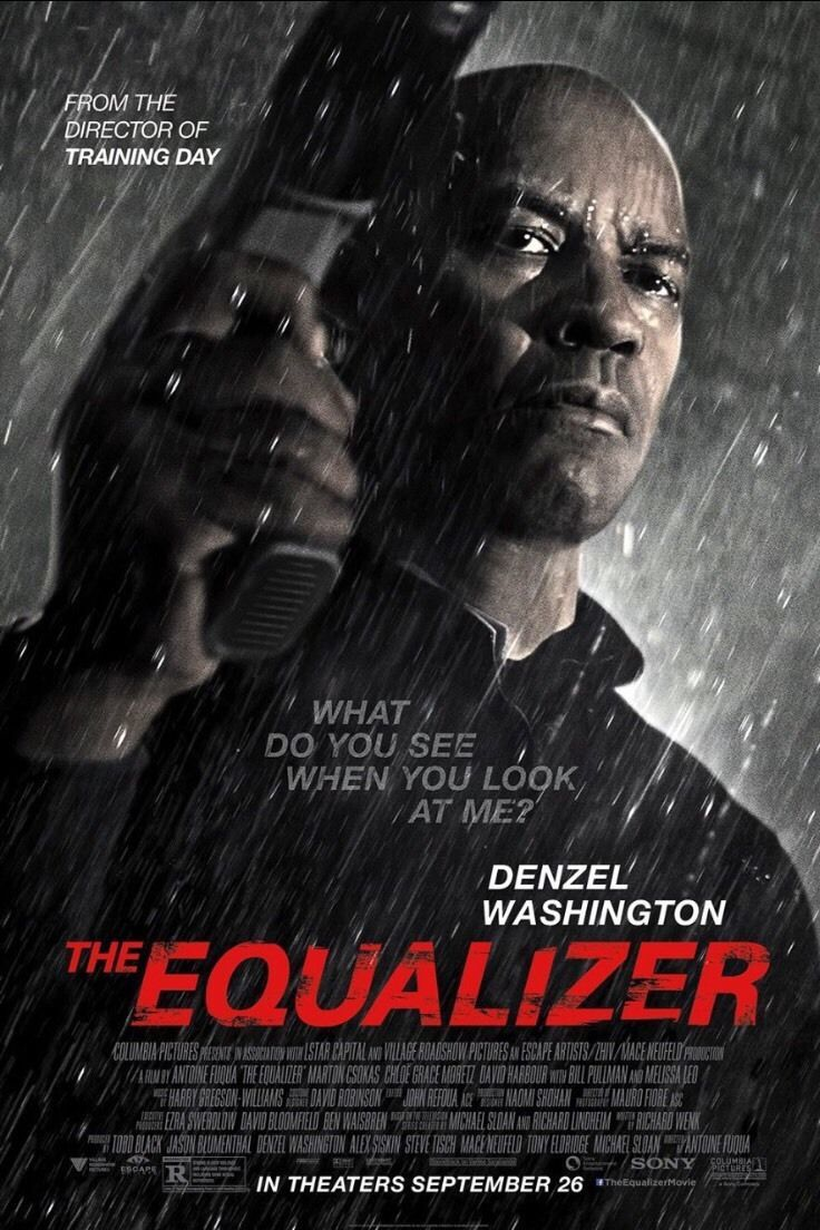 12 99 The Equalizer Authentic Rolled 27x40 D X2f S Movie Poster