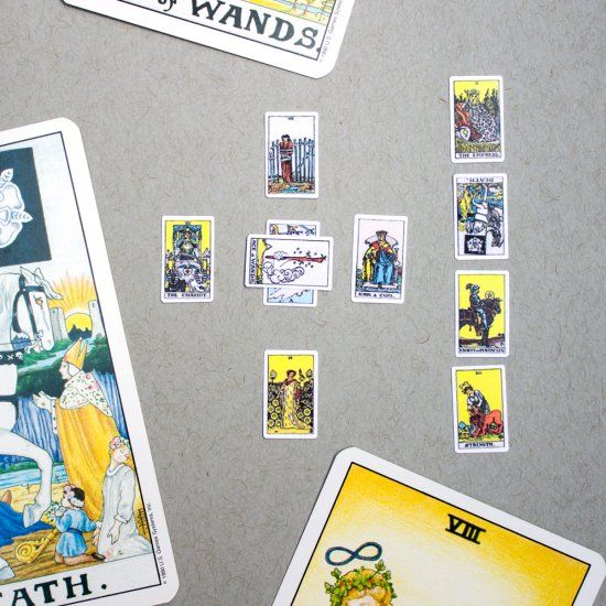 Print Your Own Miniature Playscale Tarot Cards With This