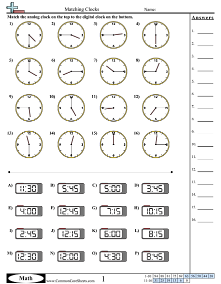 Time Worksheets §izgi §alışmaları 2 Pinterest
