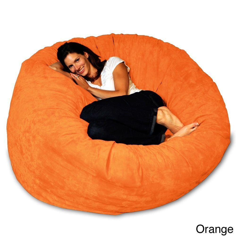 5 Foot Memory Foam Bean Bag Chair Large Bean Bag Chairs