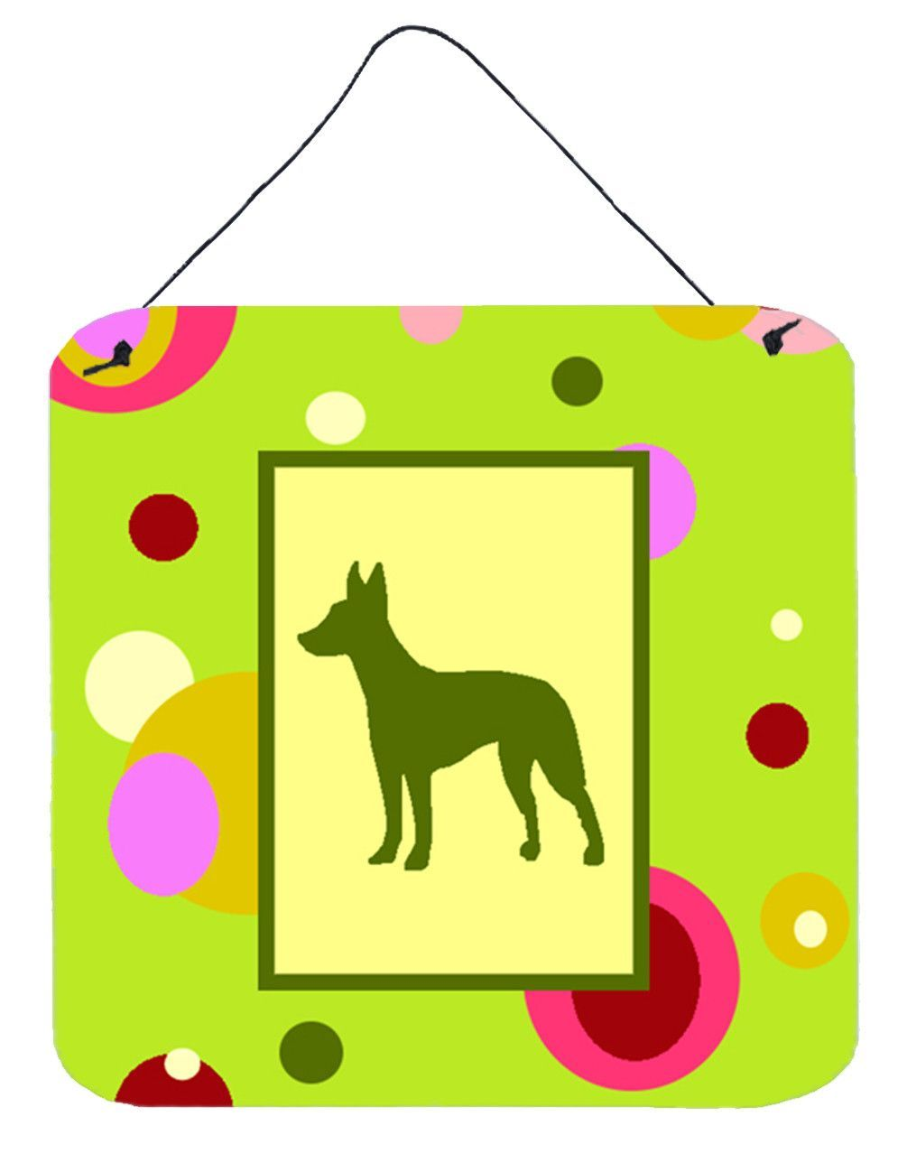 Manchester Terrier Aluminium Metal Wall or Door Hanging Prints