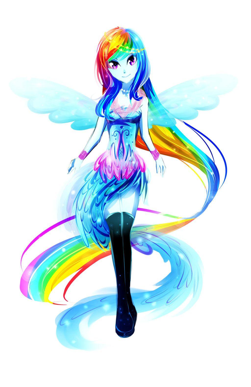 Rainbow Dash By Koveliana Deviantart Com On Deviantart Awesome