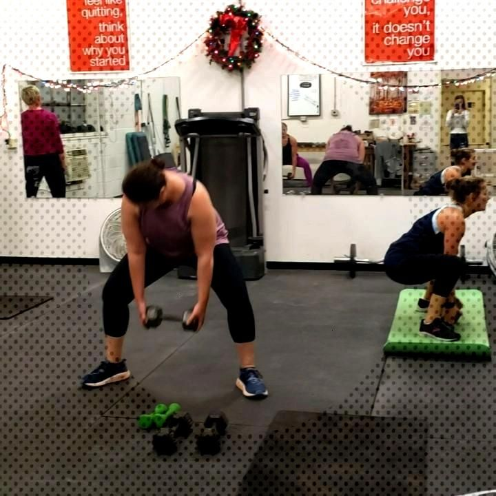 LAST CLASS OF 2019!! Low Body Block 30 30 30 10 ---- 30 Sumo Squats 30 Cannonball Squats 30
