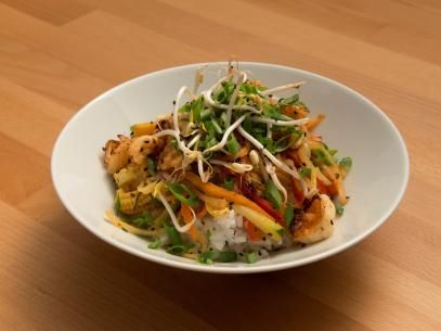 Teppanyaki Style Shrimp And Calrose Rice Recipe Food Food