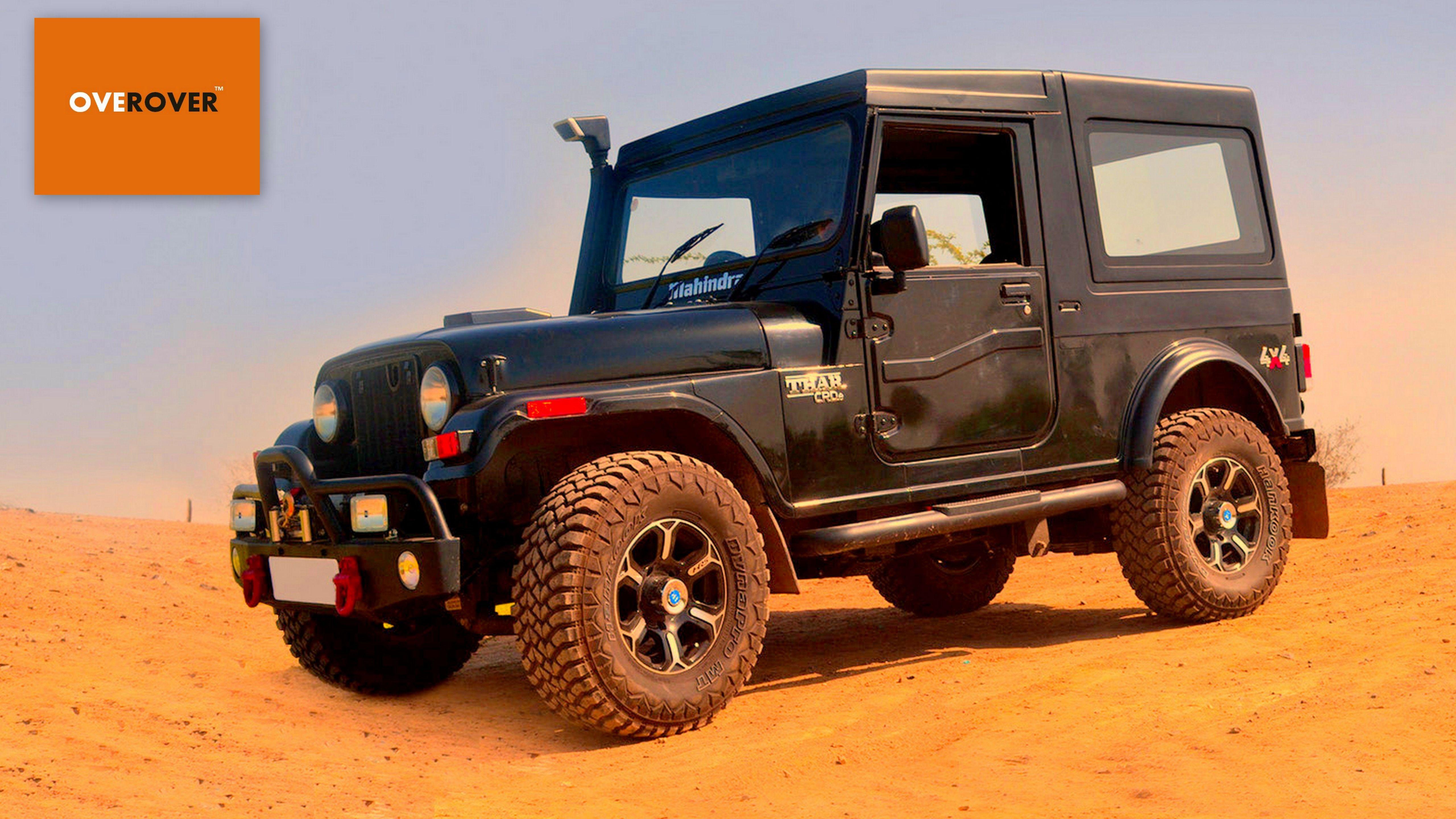 Mahindra Thar Thar Desert When Thar Meets The Thar 4x4