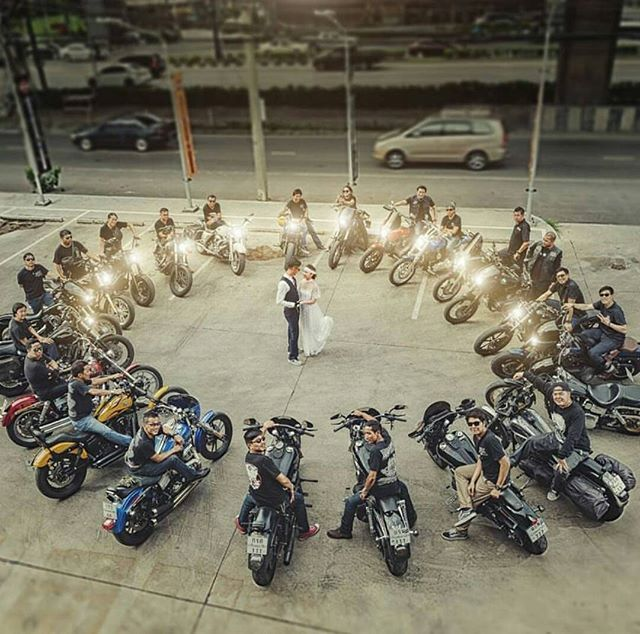 WE ARE FAMILY DFFD CLUB STYLE DYNA THAILAND Motorcycle PhotographyOur WeddingWedding EventsWedding IdeasBiker