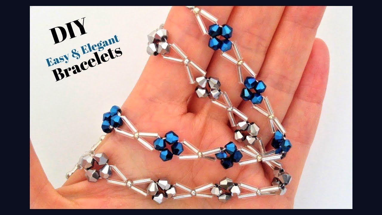 Easy pattern for diy beaded bracelets beading tutorial